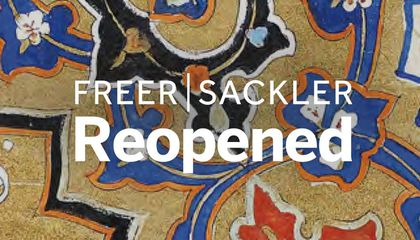 freer sackler  reopened