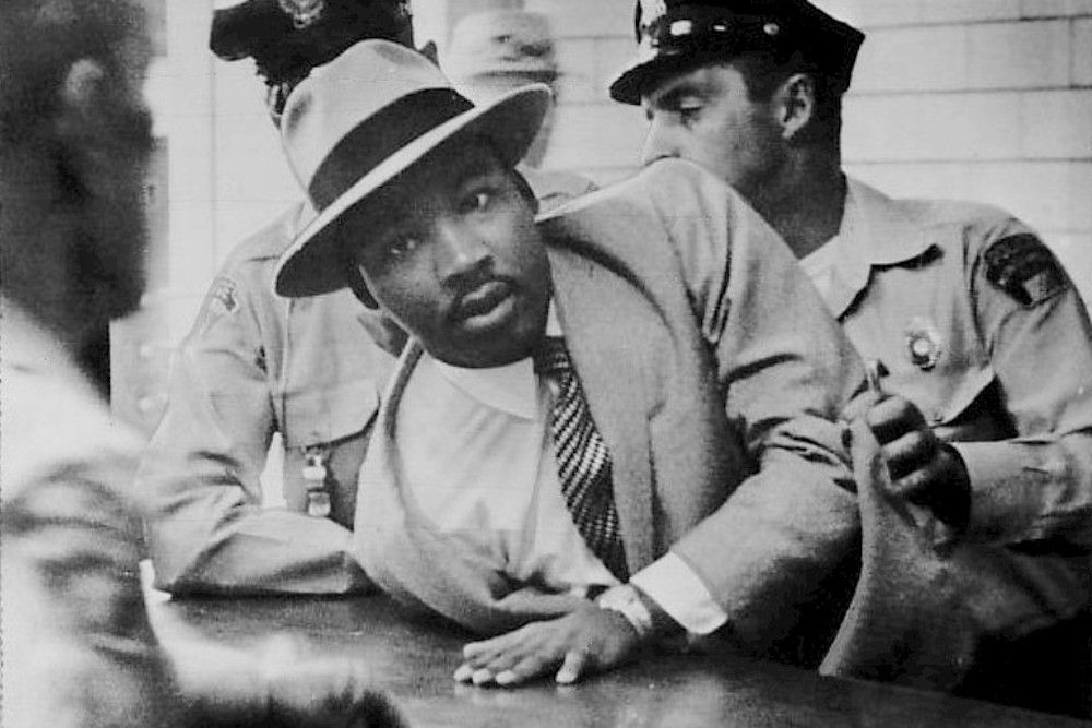 Image result for martin luther king arrested