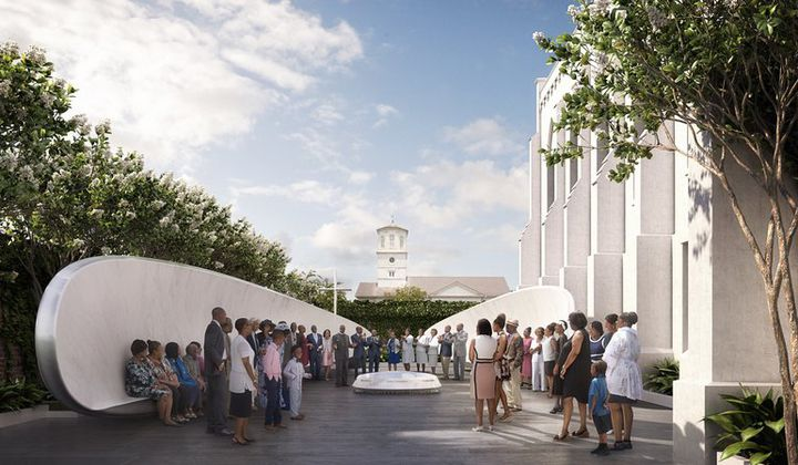 Plans for Emanuel AME Memorial Unveiled