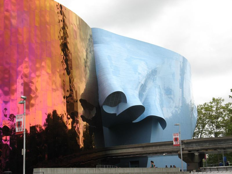 Experience Music Project Monorail Entrance