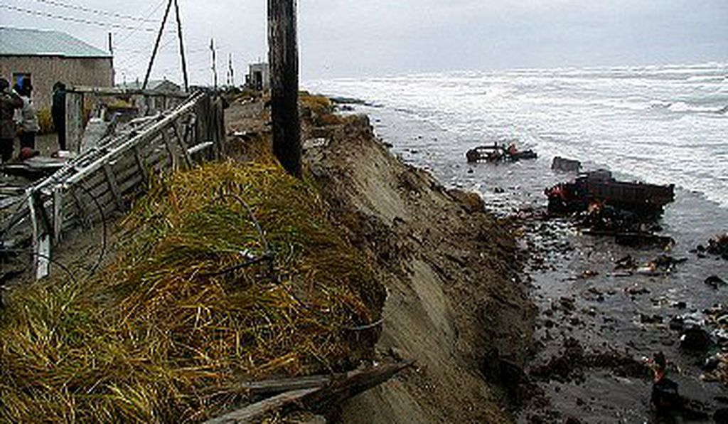 At risk from surging storm waves and floods, Alaska's coastal villagers are dealing with the immediate consequences of climate change, threats to their health, safety and even their ancestors' graves.