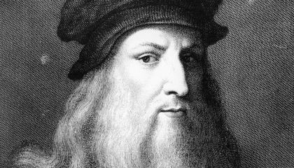 DNA Analysis Could Prove if This Lock of Hair Belonged to Leonardo da Vinci