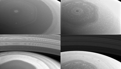 Check Out New Pictures of Saturn From Cassini's Latest Orbit