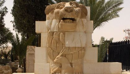 Ancient Statue Damaged by ISIS Resurrected in Damascus