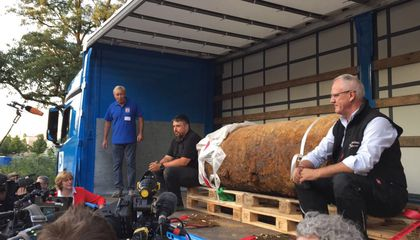 Discovery of Unexploded WWII Bomb Forces Massive Evacuation in Frankfurt