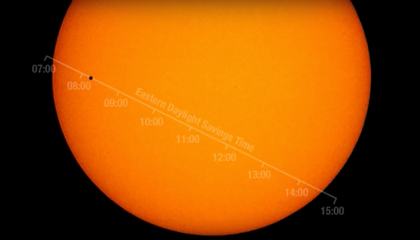 For The First Time in a Decade, Watch Mercury Cross the Sun's Face