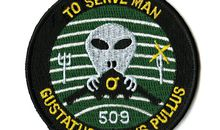 "Secret patches from the Pentagon's ""black"" world."