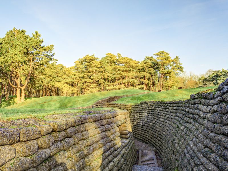 Explore These World War I Trenches and Tunnels in France and Belgium