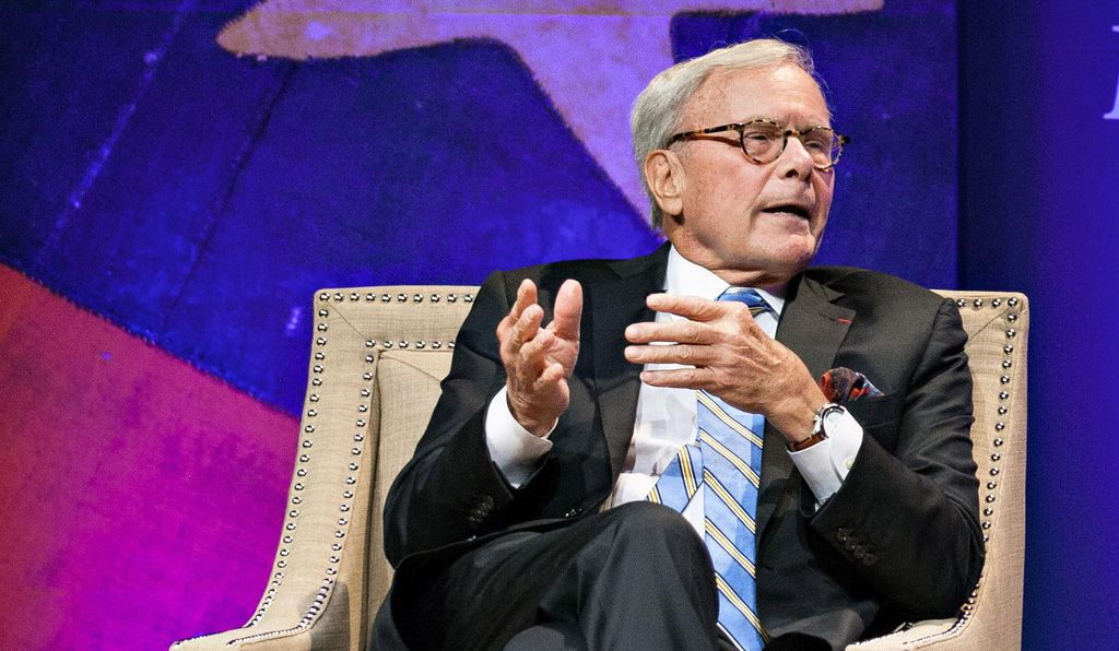 One of the guiding philosophies of his career, Brokaw says: