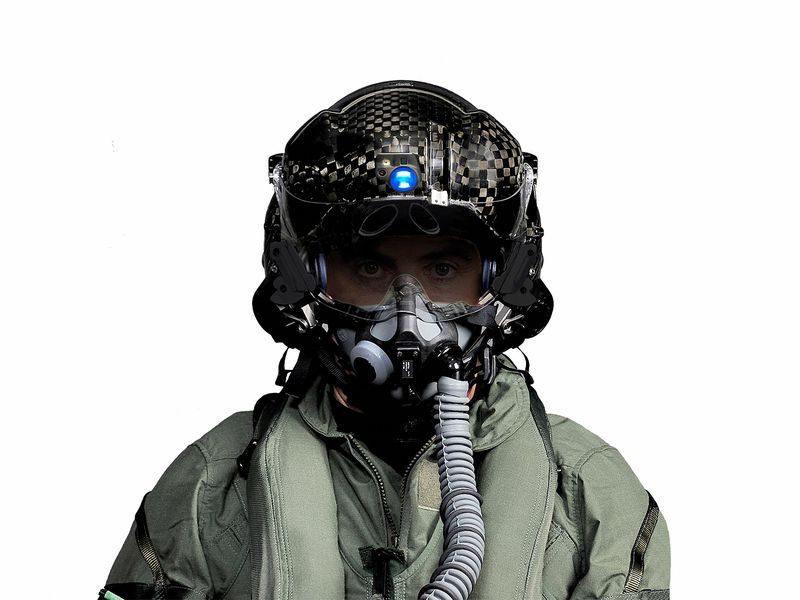 The F-35 helmet