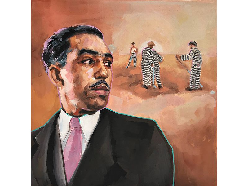 A Lost Work by Langston Hughes Examines the Harsh Life on the Chain Gang