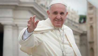 """Pope Francis: The World """"Still Has Time"""" to Act on Climate Change"""