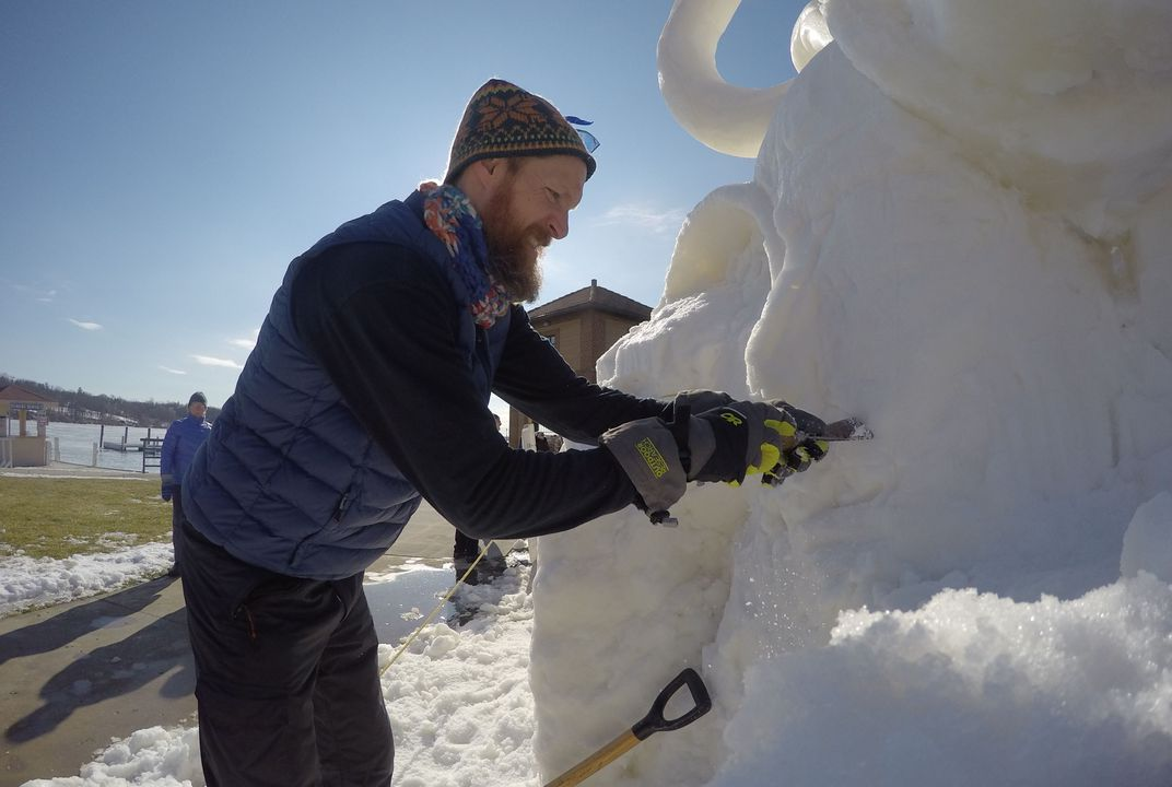What could you sculpt from snow?