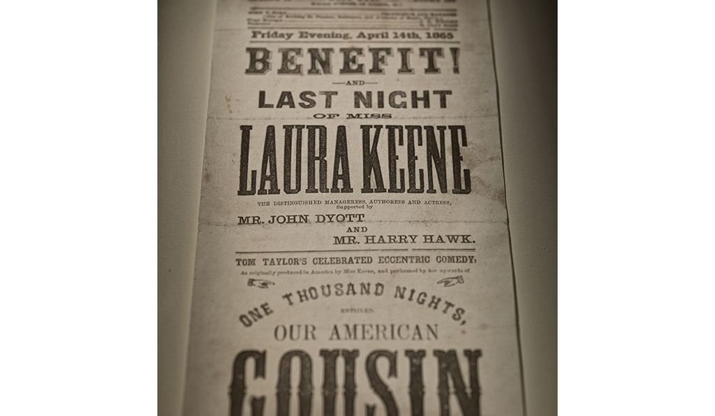 Ford's Theatre playbill