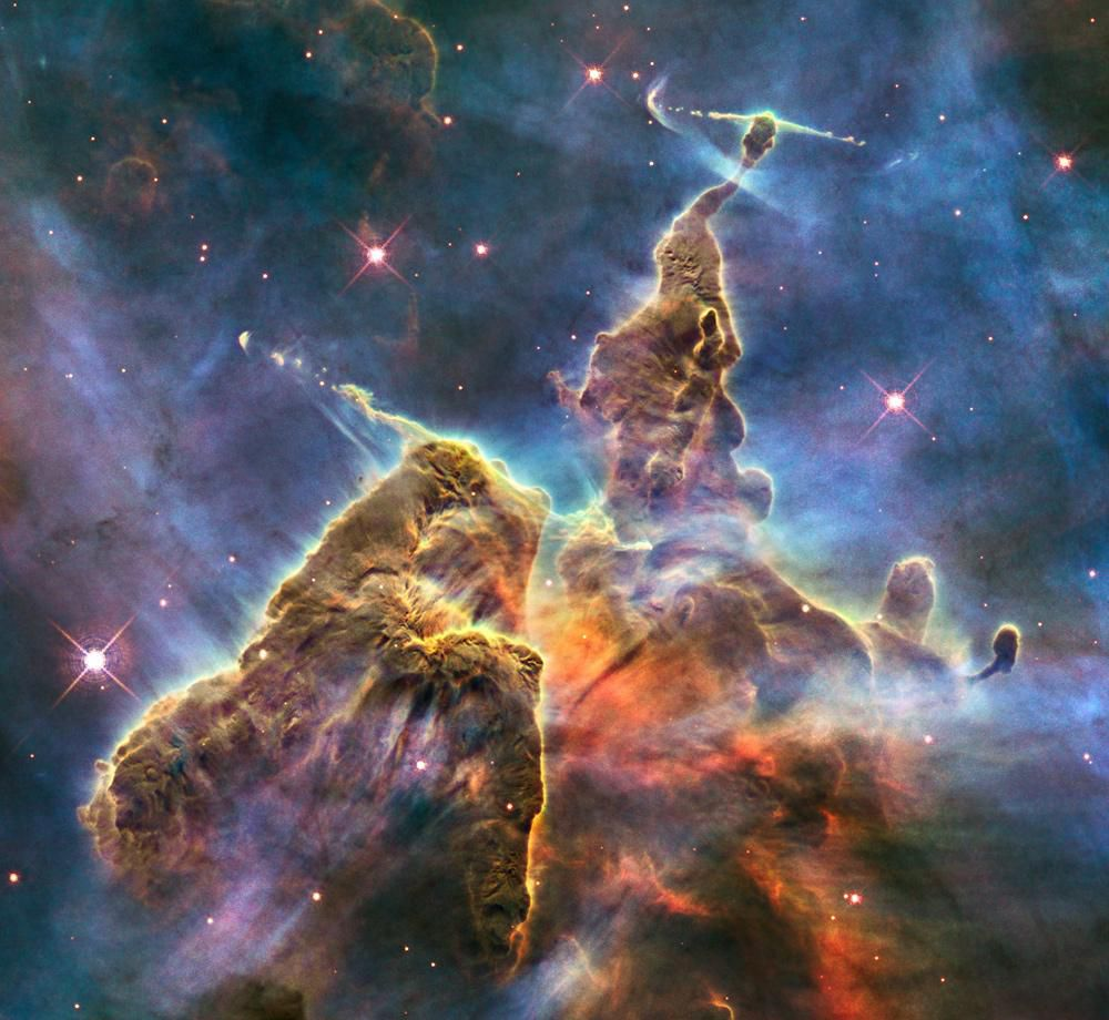 breathtaking images to celebrate the hubble space telescope getting