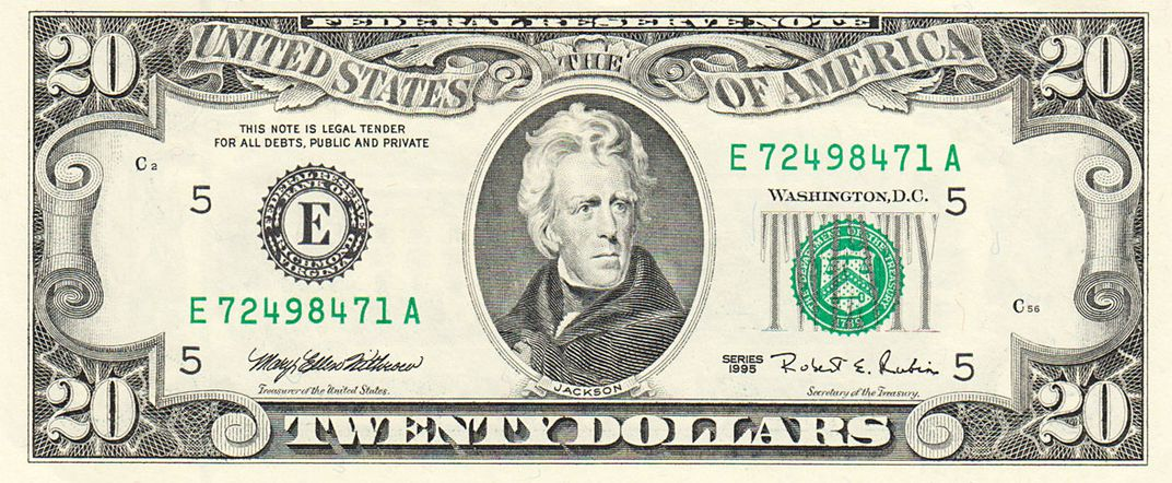 Image result for $20 bill