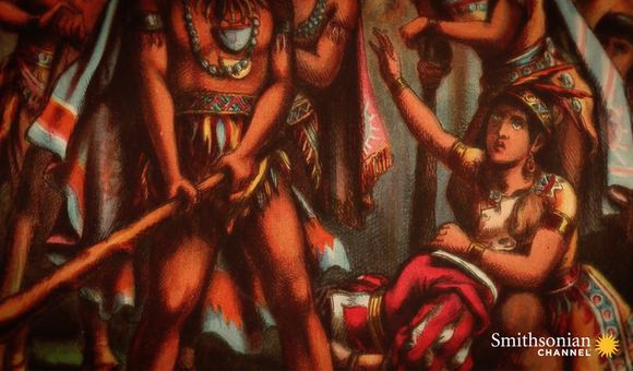 Preview thumbnail for video'Why Pocahontas May Not Have Rescued John Smith After All