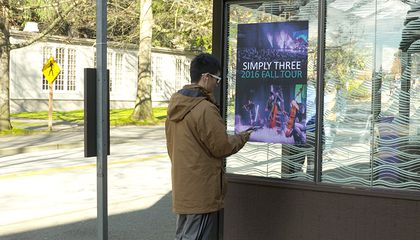 In Smart Cities of the Future, Posters and Street Signs Can Talk