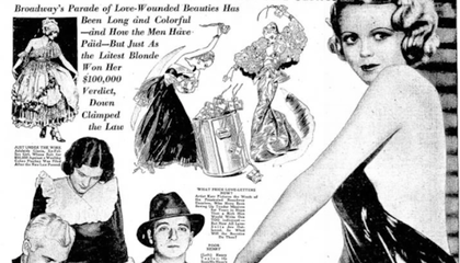 "How the ""Heart Balm Racket"" Convinced America That Women Were Up to No Good"