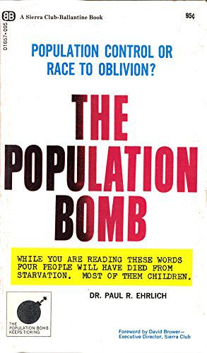 Preview thumbnail for 'The population bomb
