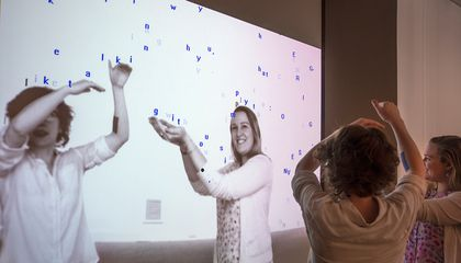 In this Exhibition You Can Play with the Artworks, Or Even Be the Art