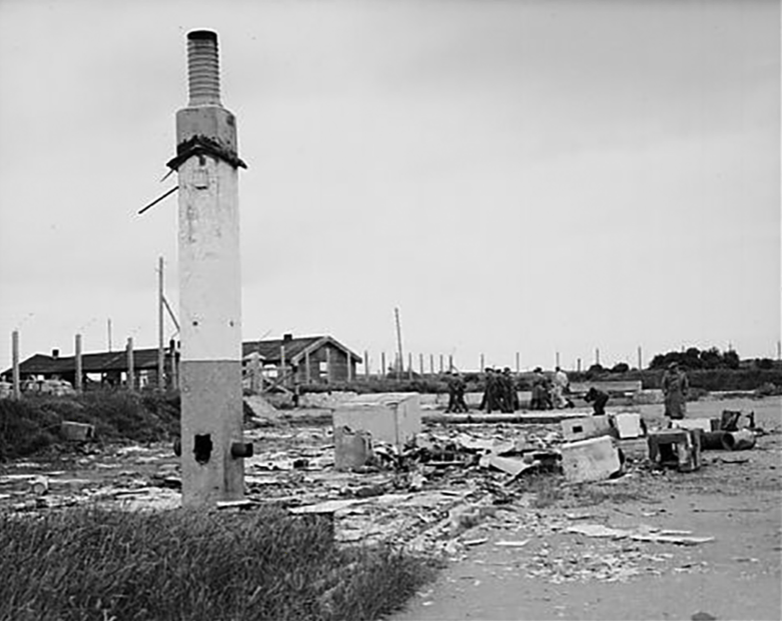 Sylt in 1945
