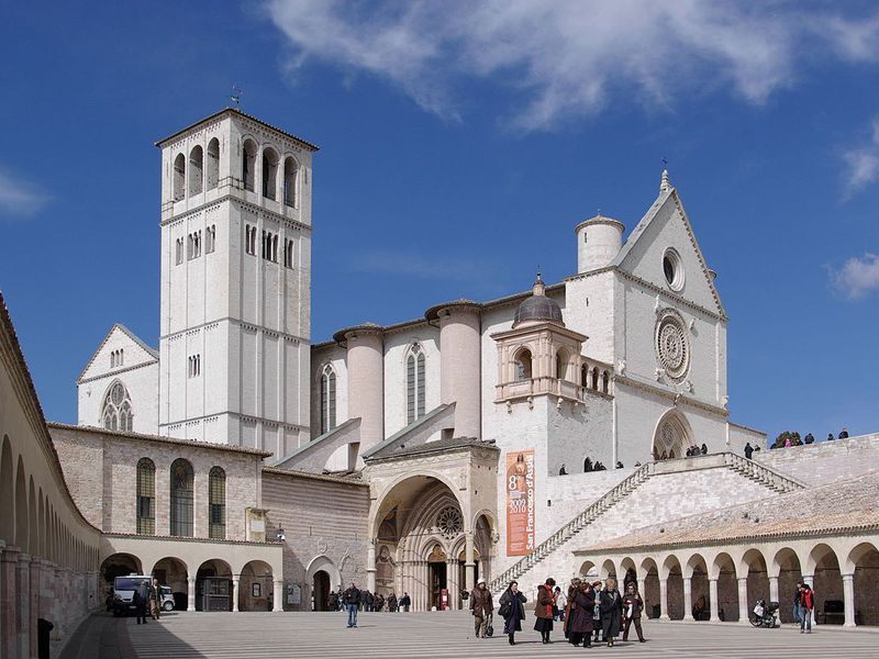 Basilica of St. Francis in Assisi