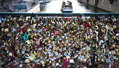 Paris Is Selling Old Love Locks to Raise Money For Refugees