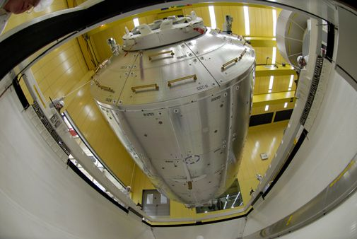 The International Space Station is about to become more international with the addition of Europe's Columbus module.