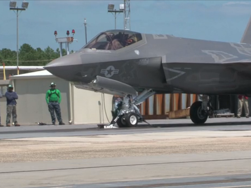 f-35 catapult test