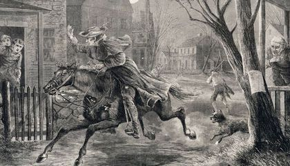 Image: The midnight ride of Paul Revere and some other guys