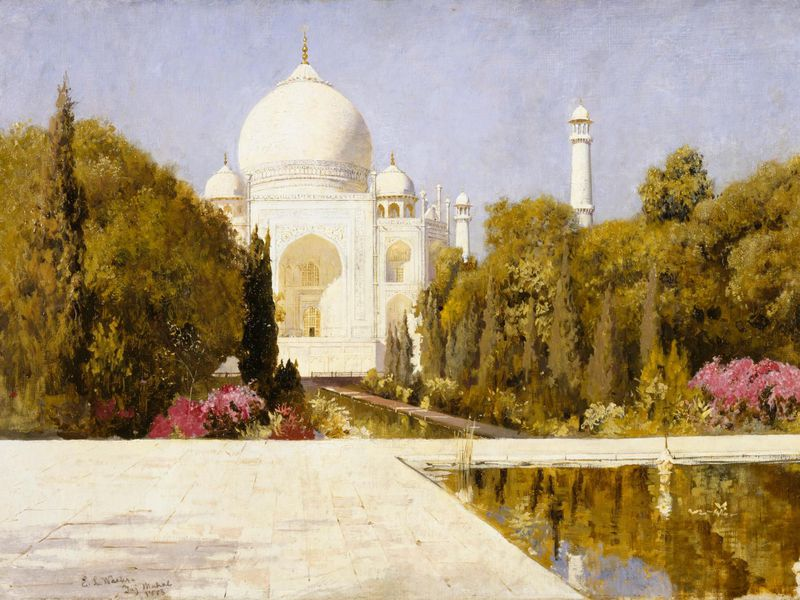 Ahmad Lahauri is believed to have been the main architect of the Taj Mahal.