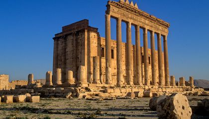 ISIS Recently Blew Up an Ancient Temple in Palmyra