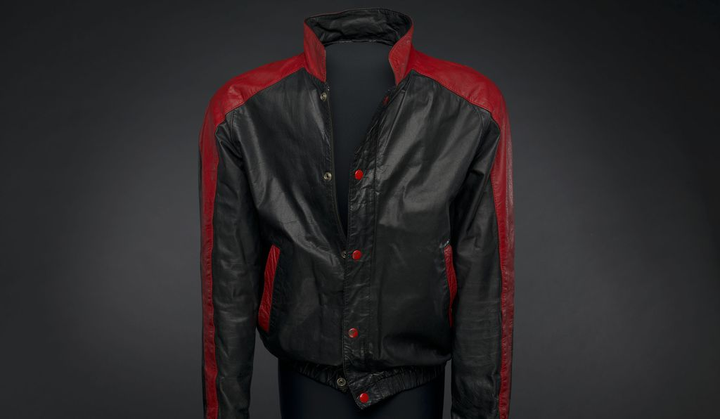 Photographs and some of Blow's stage gear including this jacket worn in 1981 on his album, <em>Deuce,</em> are housed at the National Museum of African American History and Culture.