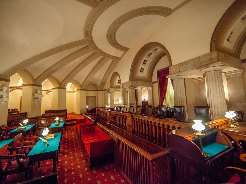 Old Supreme Court Chamber in the U.S. Capitol