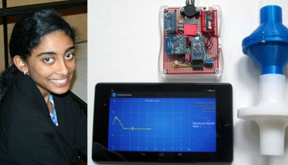 How a High School Senior Won $150,000 By Inventing a $35 Medical Device