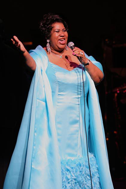 Aretha Franklin Apollo Theater