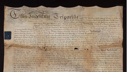 This Property Contract Sheds New Light on James Smithson's Gift to the Smithsonian