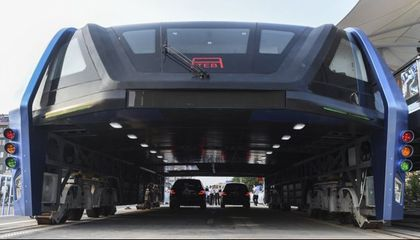 Not So Fast: Here's Why That Chinese Elevated Bus May Not Be Quite What It Seems