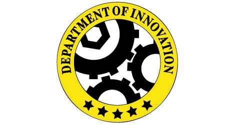 The Department of Innovation logo by Jamie Simon