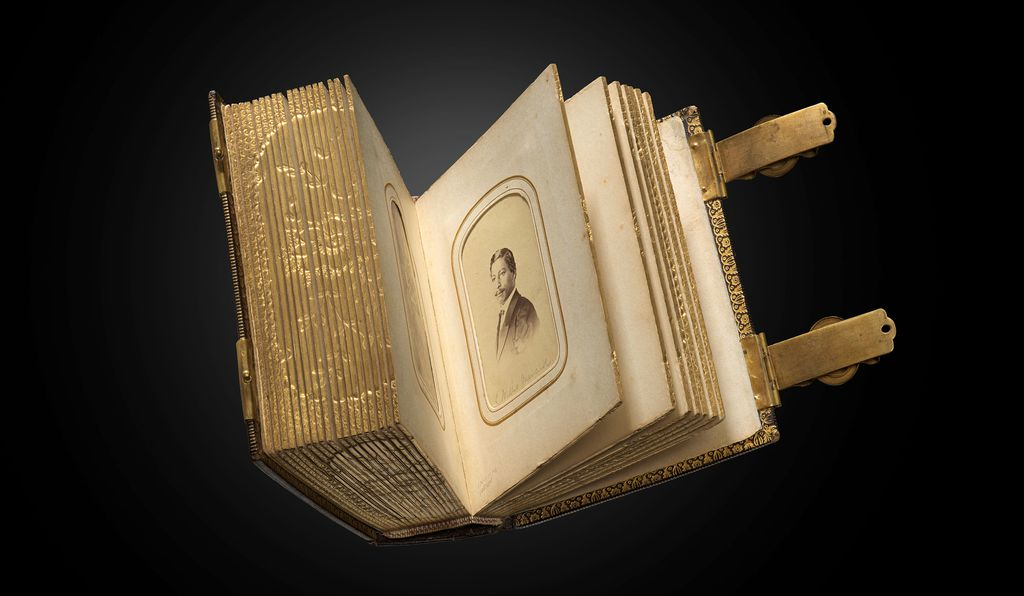 Howland's photo album, also containing the image of John Willis Menard, was unveiled this week in the museum's Heritage Hall.