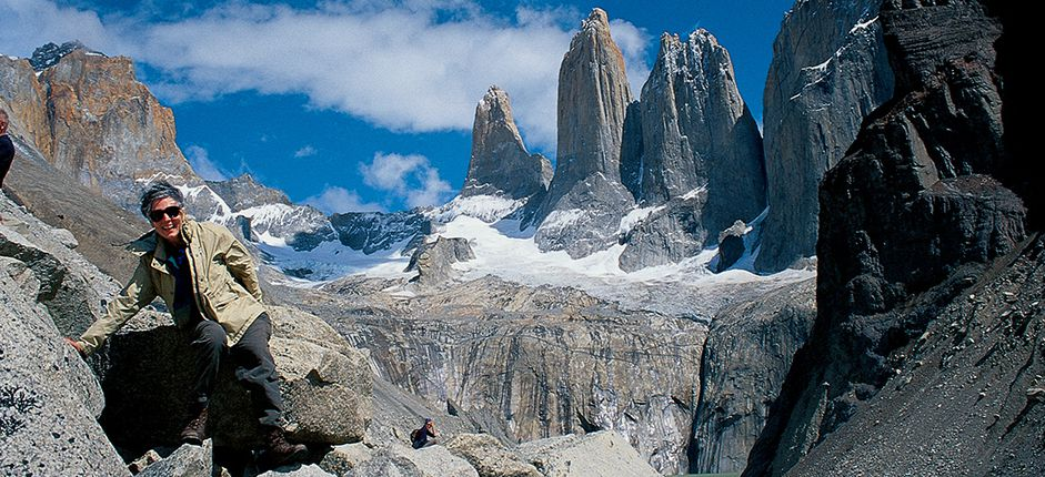 Hiking Through Patagonia <p>Go hiking amid the breathtaking beauty of Patagonia, taking in views of pristine glacial lakes, iconic snowcapped peaks, and dramatic glaciers as you learn about the region&#39;s natural wonders.</p>