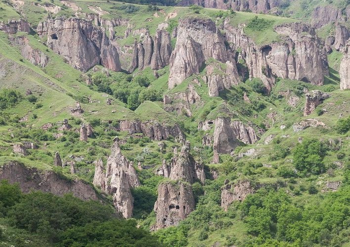 Caption: Visit an Ancient Cave City in Armenia
