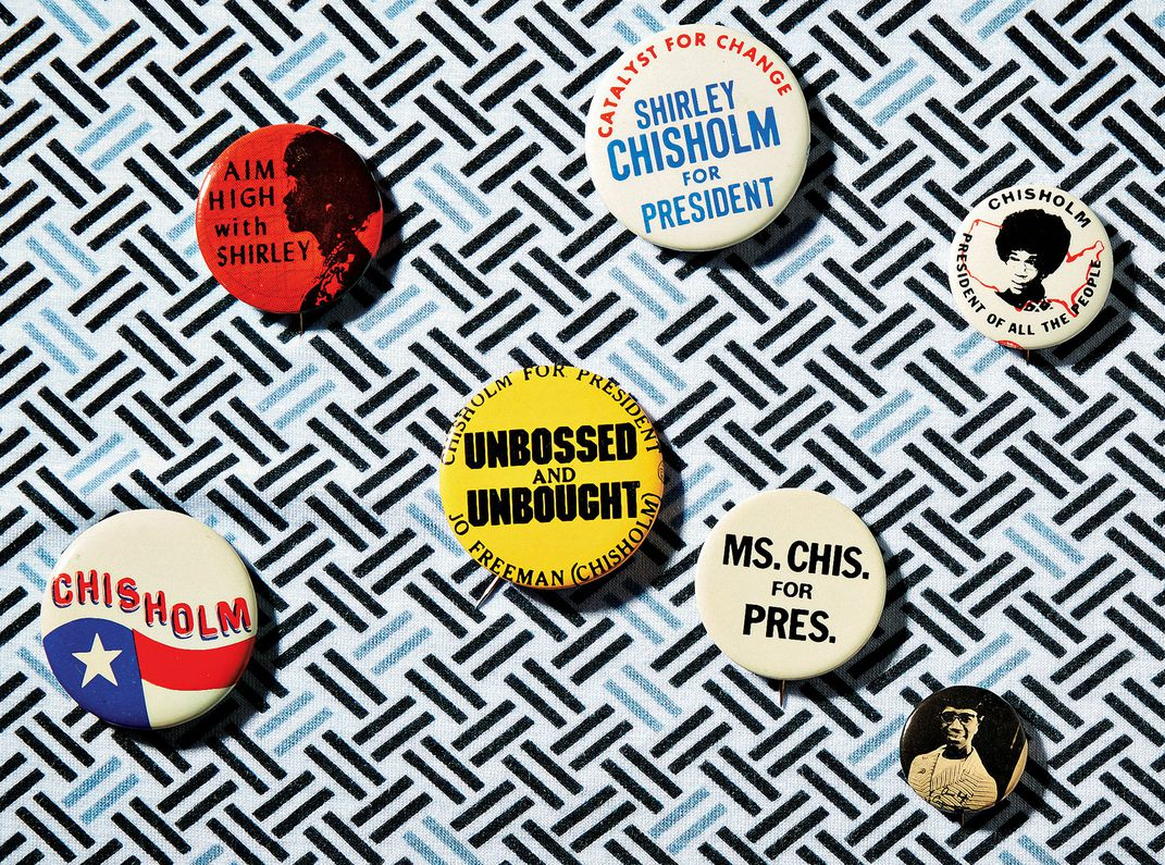 Chisholm Campaign Buttons