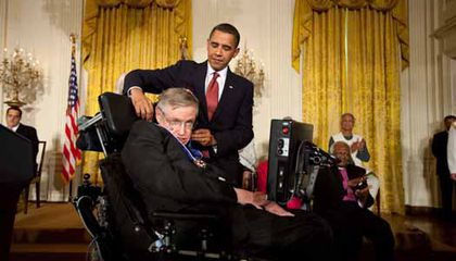 An Honor and a Party for Stephen Hawking