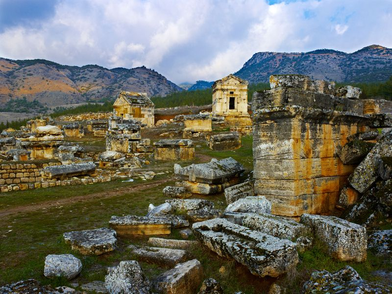 Tombs Hierapolis