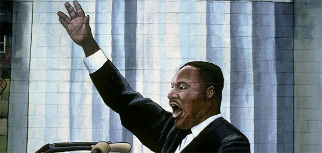 Martin Luther King Jr murals