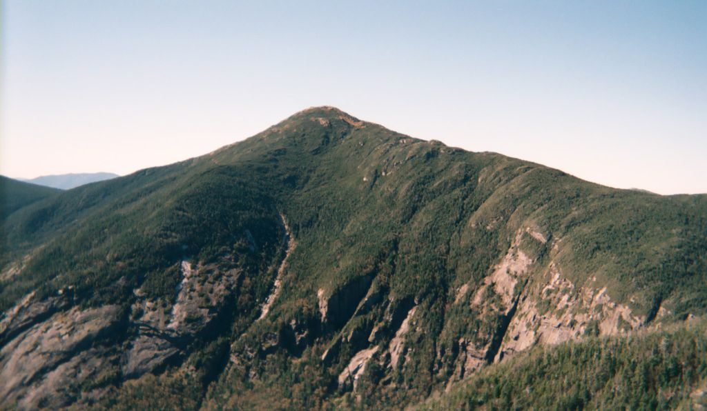 The summit of Mount Marcy that Roosevelt climbed while McKinley was dying.