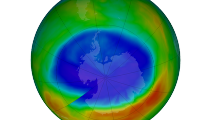 The Ozone Hole Is the Smallest It's Been in 30 Years—But We Can't Take Credit