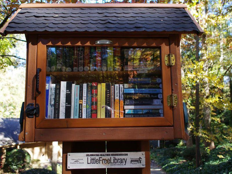 "What would you include in your own ""little library""?"